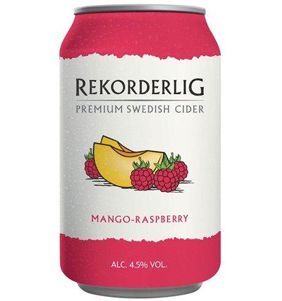 Rekorderlig Mango Raspberry 4,5% 24x0,33 ltr.
