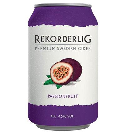 Rekorderlig Prem. Passionfruit 4,5% 24 x 0,33 ltr