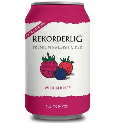 Rekorderlig wild berries strong 7% 24x0,33l