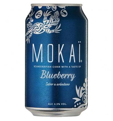 Mokai Blueberry Cider 4,5% 18x 0,33l