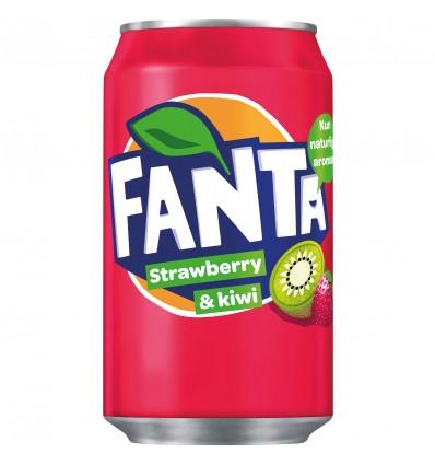 Fanta Strawberry & kiwi 24 x 33 cl.