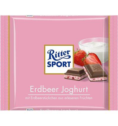 Ritter Sport Jordbær Yoghurt 100 g