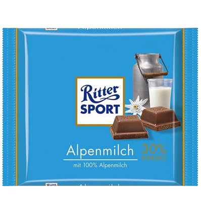 Ritter Sport Alpemælk 100 g