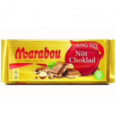 Marabou King Size Mælkechokolade med Hasselnødder 250g
