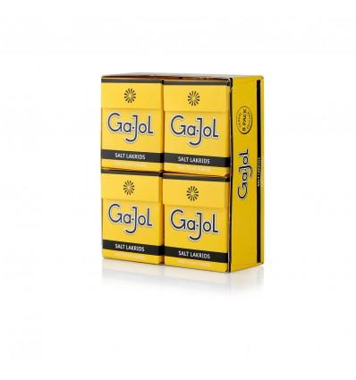Ga-Jol Gul Saltlakrids 8x23g