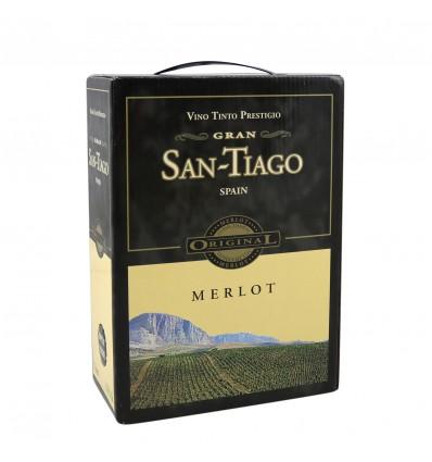 Gran San Tiago Merlot 3L BIB