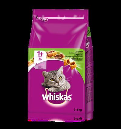 Whiskas med lam 3,8 kg