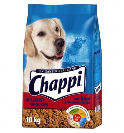 Chappi Oksekød og Fuldkorn 10kg
