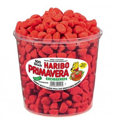 Haribo Primavera Erdbeeren 500 stk.