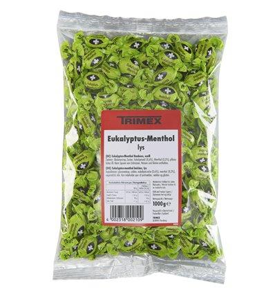 Eukalyptus-Menthol Lys 1 kg