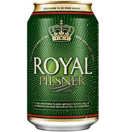 Royal Pilsner 24x0,33 l. 4,6%