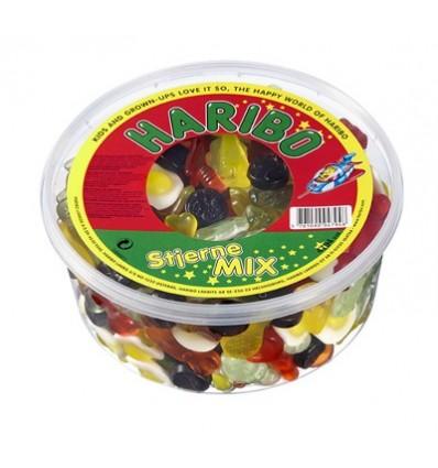 Haribo Stjerne Mix 1 kg
