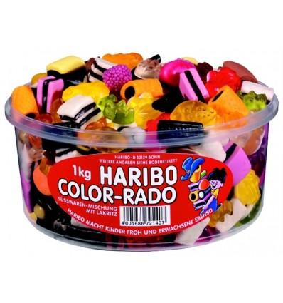 Haribo Color-Rado Runddose 1 kg.