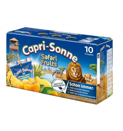 Capri-Sonne Safari. 10 x 200 ml.